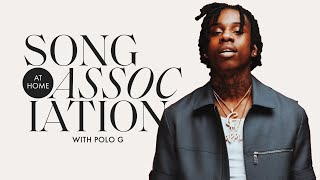 "Polo G Raps Future, Mulatto, and ""Pop Out"" in a Game of Song Association 