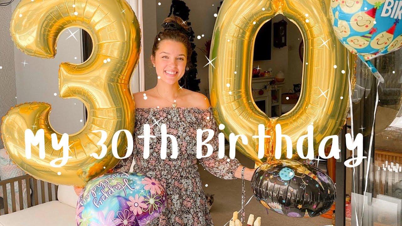 Download MY 30TH BIRTHDAY! | VLOG