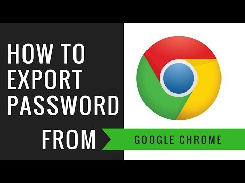 HOW TO EXPORT PASSWORDS FROM CHROME BROWSER? | ENABLE FEATURES IMPORT & EXPORT PASSWORD