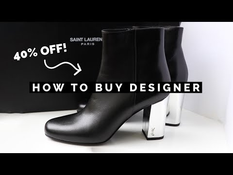 HOW TO BUY DESIGNER BRANDS FOR CHEAP (SHOPPING HACKS TO SAVE MONEY!)