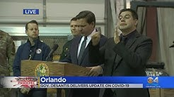 WEB EXTRA: Gov. Ron DeSantis Briefs Floridians On Coronavirus