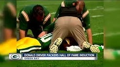 Donald Driver inducted into Packers' Hall of Fame