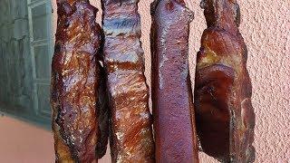 Bacon de Costelinha Feito em Casa