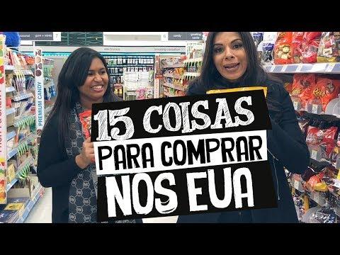 15 COISAS PRA COMPRAR NOS ESTADOS UNIDOS
