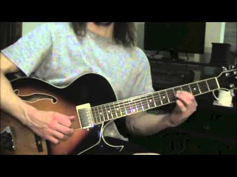 How To Play Take The A Train On Guitar With Tab Youtube