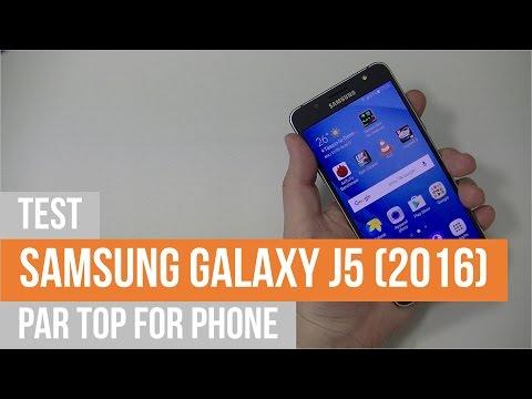 SAMSUNG GALAXY J5 (2016) - test par TFP
