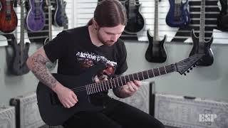 ESP Guitars Demo - Black Metal Series