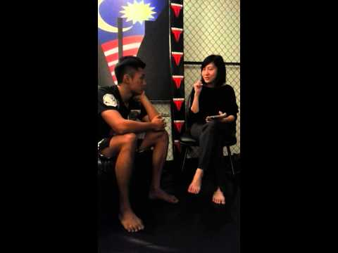 Gianni Subba and his first Chinese interview for Sin Chew Daily