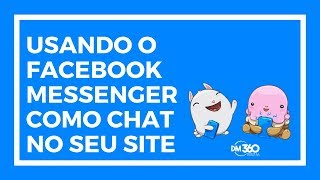 Use o Facebook Messenger como chat online grátis