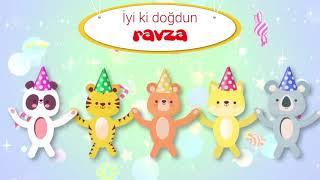 İyi ki Doğdun RAVZA - İsme Özel Kırmızı Balık Doğum Günü Şarkısı