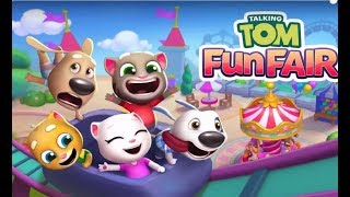 Говорящий ТОМ Веселая Ярмарка новая игра про приключения Тома и его друзей
