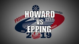 2019 ONT Tankard - Epping vs Howard