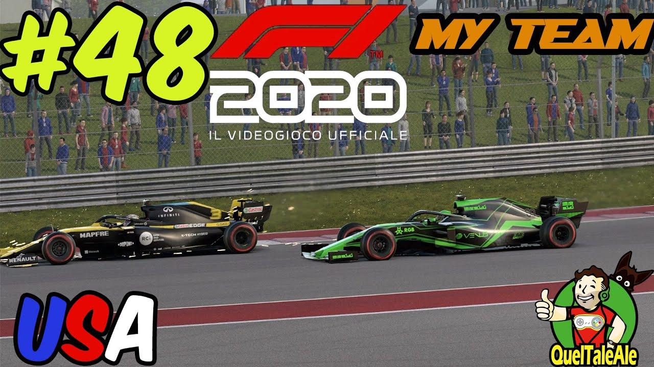 POVERO BOTTAS | F1 2020 - Gameplay ITA - MyTeam #48 - USA
