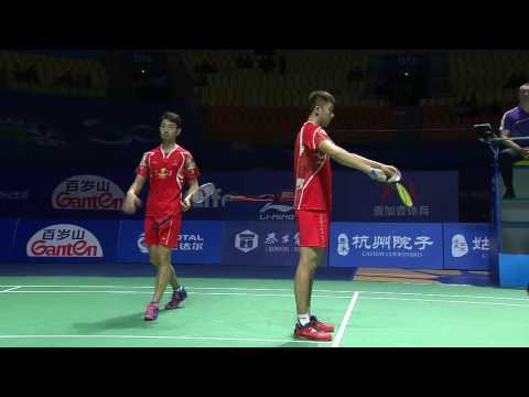 Thaihot China Open 2016 | Badminton SF M1-MD | Chai/Hong vs Gid/Suk