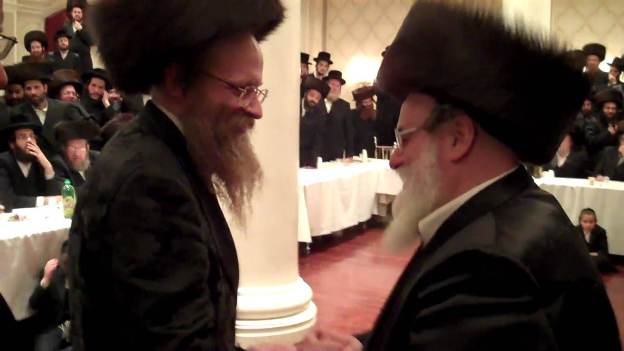 Kosov - Sedrehel Wedding  Rabbi Mendel Hager - Mitzvah Tanz