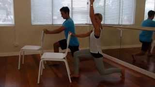 Barre Body - His 'n' Hers Part 1: Burner Lunge