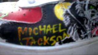 Custom AF1s: Michael Jackson Sneakers