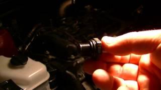 PCV Valve Check Replacement Hyundai Sonata 2011 2 0T SE Turbo Every 35 000 Miles