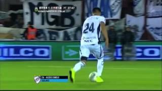 Gol de Canelo. Quilmes 1 - Estudiantes 0. Copa Argentina 2015. 4tos de Final. FPT.