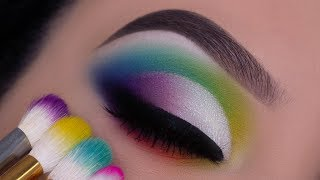TRY THIS! Colorful Cut Crease Tutorial | Indepth Explanation