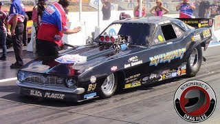 2015 IHRA Rocky Mountain Nationals Part 19: (Nitro Funny Car Round 1 Eliminations)