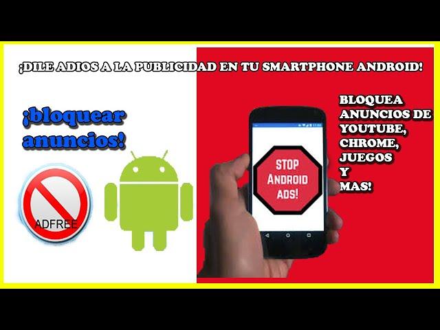 ELIMINAR ANUNCIOS ANDROID/Quitar Publicidad Emergente 2020