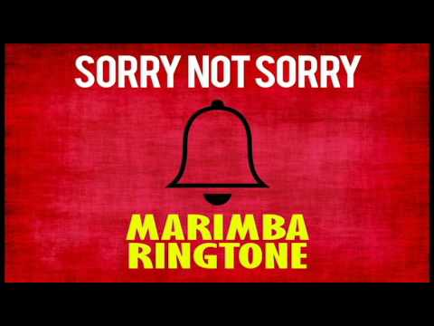 Latest iPhone Ringtone - Sorry Not Sorry Marimba Remix Ringtone - Demi Lovato