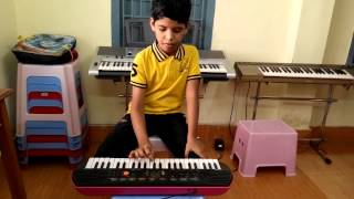 TELUGU CHRISTIAN SONG NADIPINCHU NAA NAVA ON KEYBOARD BY ABHINAV PRITAM
