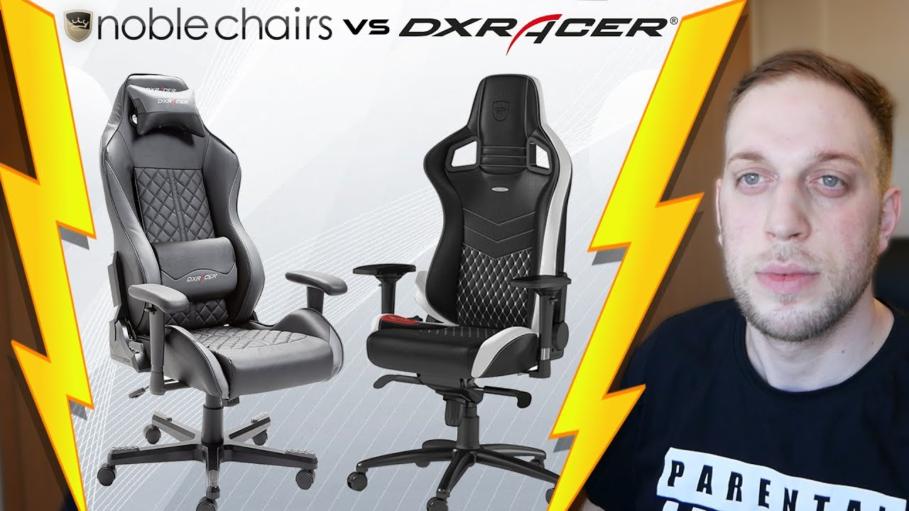 noblechairs oder dx racer welchen soll ich kaufen youtube. Black Bedroom Furniture Sets. Home Design Ideas