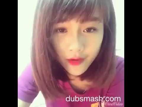 Hot Girl Trâm Anh Lê Cover Cực Cute Phiên Bản Dubsmash