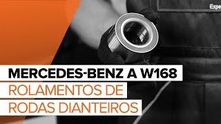 Instruções em vídeo para o seu MERCEDES-BENZ Classe A