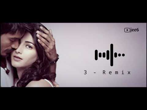 3 Bgm Remix | Ringtone | Painfull Love Bgm Tamil | Jee6