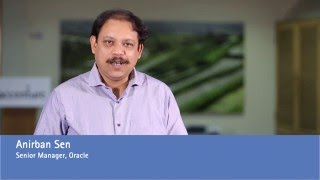 Anirban Sen invites you to step into the future by joining Accenture's Oracle capability team