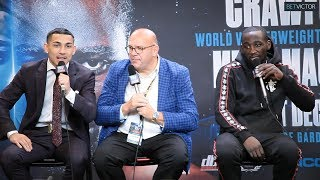 Terence Crawford and Teofimo Lopez - FULL POST PRESS CONFERENCE I Top Rank Boxing on ESPN