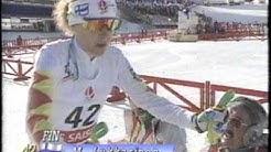 1992 Winter Olympics - Women's 15KM Cross Country TNT