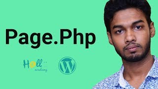 WordPress Theme Development Part 10(create page.php )