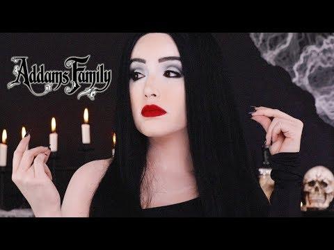 MORTICIA (THE ADDAMS FAMILY) HALLOWEEN MAKEUP | AMANDA ENSING thumbnail