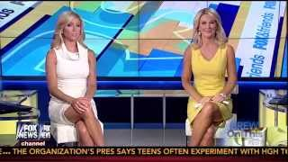 Ainsley Earhardt & Heather Childers 07-23-14