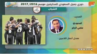 فيديوجراف.. دوري جميل السعودي للمحترفين موسم 2016 - 2017