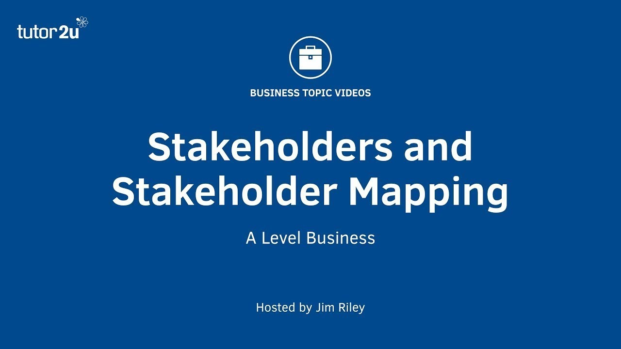 Stakeholders (Introduction) | Business | tutor2u