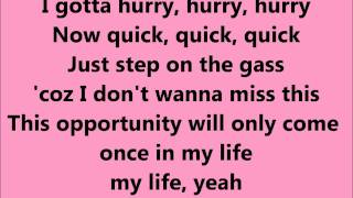 Happiness - Alexis Jordan - lyrics