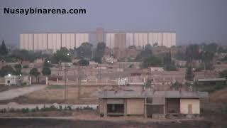 Suriye Kamışlı kentinde YPG YPJ lilerin konvoyu görüntülendi