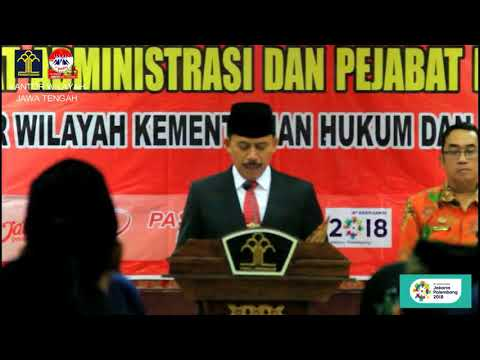 Pelantikan Dan Pengambilan Sumpah Jabatan Pejabat Administrasi Dan Pejabat Fungsional [07-06-2018]
