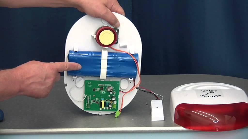 Battery Powered Wireless Outdoor Siren Youtube