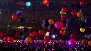 Coldplay Viva La Vida & Adventure of A Lifetime Live Cardiff 11 July 2017