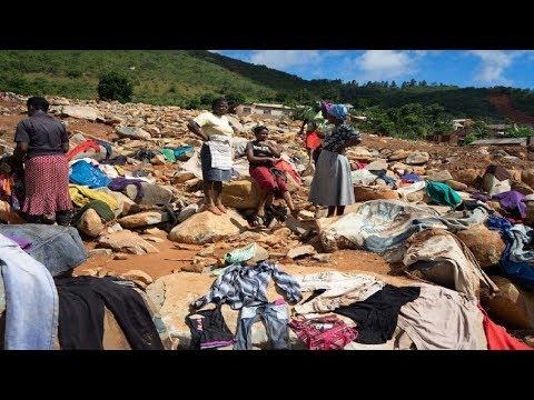 Cyclone Idai Hits Mozambique, Zimbabwe & Malawi Claiming More Than 350+ Lives