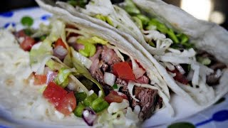 Cilantro Lime Marinade & Flank Steak Tacos