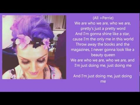 Little Mix - We Are Who We Are (Lyrics)