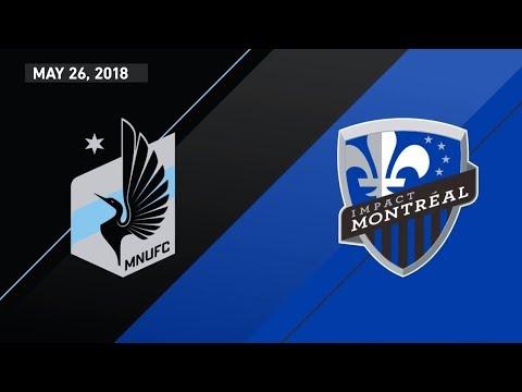 HIGHLIGHTS: Minnesota United FC vs. Montreal Impact | May 26, 2018 thumbnail