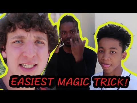 WORLD'S EASIEST MAGIC TRICK! JULIUS DEIN VLOGS